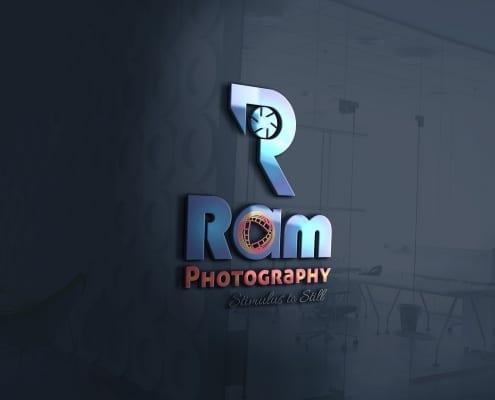 Custom logo design work for photography studio